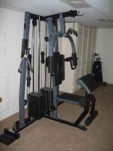 weider 4850 weight machine talk tennis
