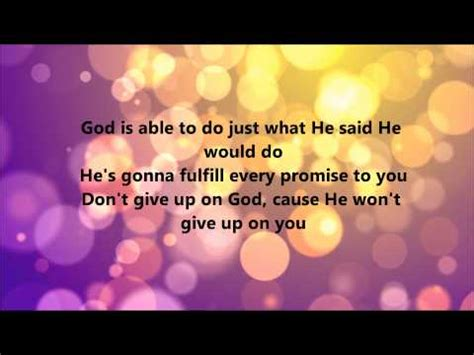 deitrick haddon he s able official he is able mp3 download elitevevo
