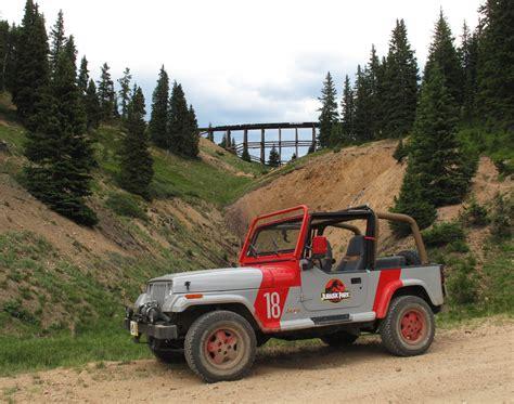 Jurassic Jeep Jurassic Park Jeep 2010 By Boomerjinks On Deviantart