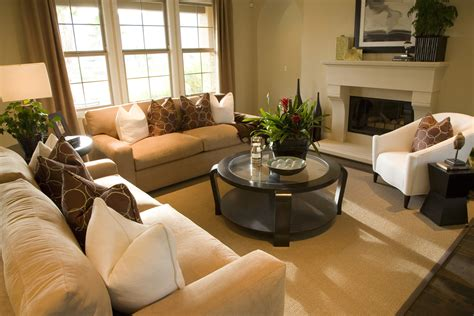 living room staging tips for staging your home on a budget