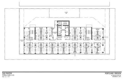 hotel floor plan dwg ea 14 217236 portland curio hotel drawings typical