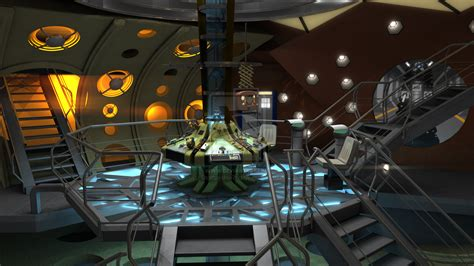 9th Doctor Tardis Interior by 11th Doctor Matt Smith Tardis Interior By Davros The 2nd