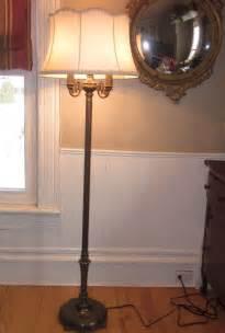 antique rembrandt torchiere candelabra floor l w milk