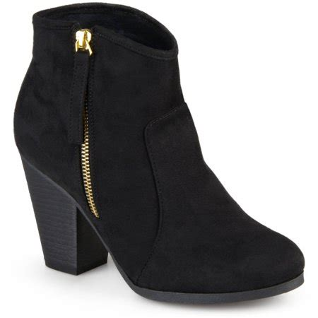 Faux Suede High Heel Ankle Boots brinley co s faux suede high heel ankle boots