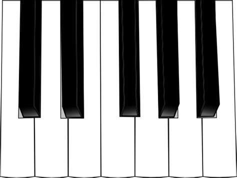 Piano Keyboard Clipart organ keyboard clip at clker vector clip royalty free domain