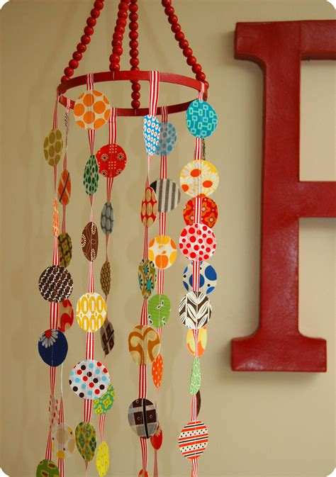 Handmade Mobiles For Nursery - for the of polka dots a crib mobile tutorial sew