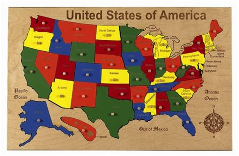us map puzzle for toddlers back to school wooden usa puzzle 171 buymodernbaby
