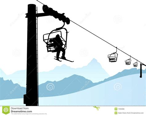 chair lift clipart clipground