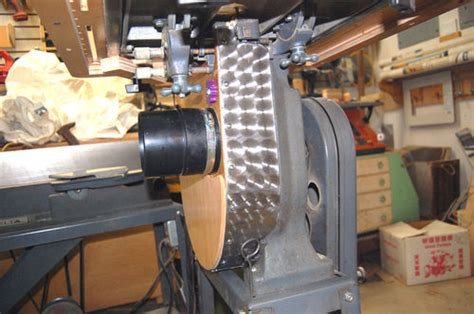 Dust Collection For An Old Bandsaw By Tyvekboy