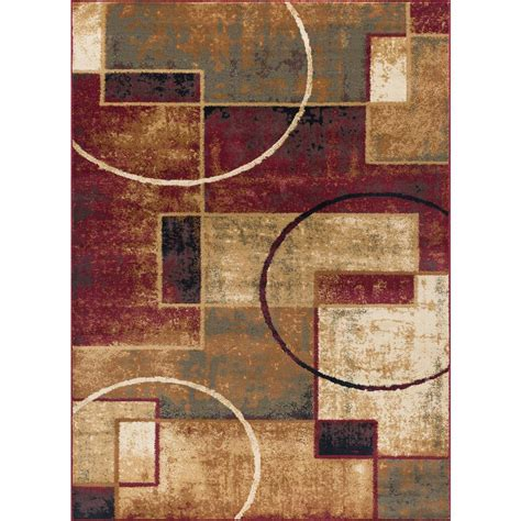 10 Ft Contemporary Rugs - 8 x 10 tayse rugs area rugs rugs the home depot