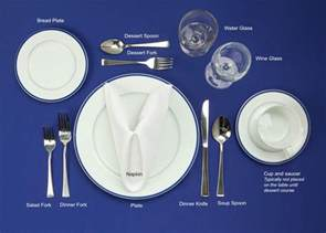 Formal Table Setting by Formal Table Settings Pictures To Pin On Pinterest