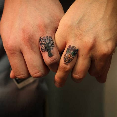 ring finger tattoos wedding ring finger tattoos