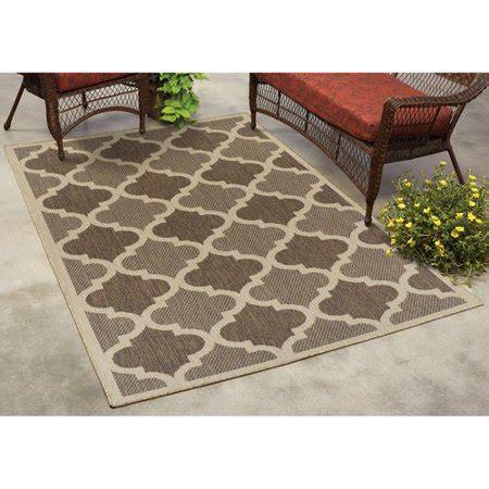 trellis outdoor rug mainstays trellis indoor outdoor rug walmart