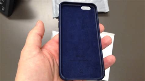 Limited Edition Apple Iphone 7 Leather Original Midnight Blue apple iphone 6 leather unboxing