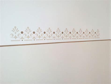 schablone wandmalerei maler maicher fassaden wand innenraum anstrich in