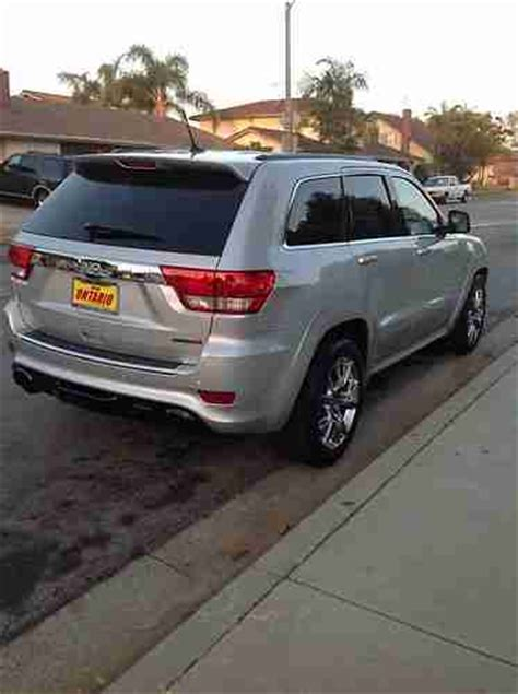 2012 Jeep Grand Tow Package Purchase Used 2012 Jeep Grand Srt 8 392 6 4l Hemi