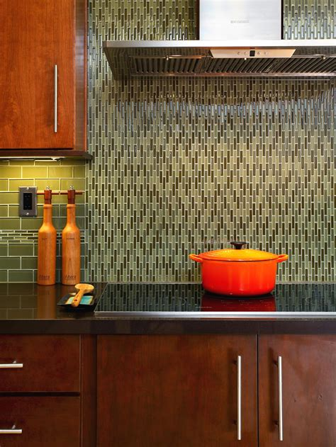 green glass tile backsplash ideas photos hgtv