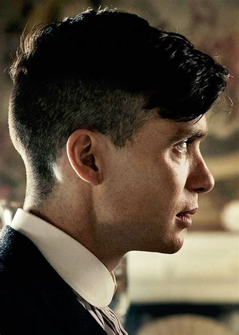 peaky blinder haircut mens cillian murphy as tommy shelby can t wait for the scene