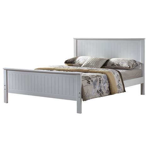 Larissa White Wooden Bed Frame Next Day Delivery Larissa Wooden Bed Frames White