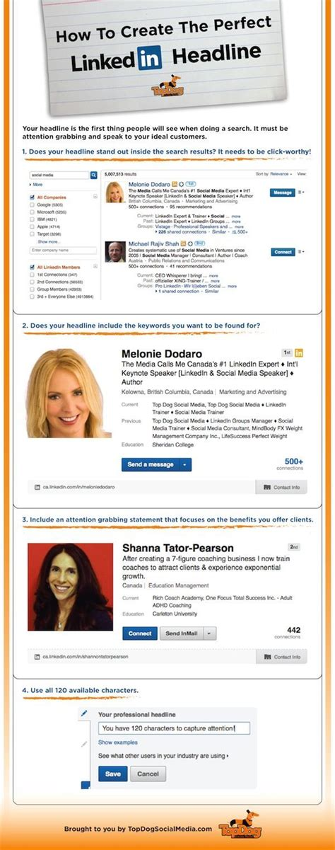 Linkedin Headline Tips For Recent Mba by Great Tips On Creating A Compelling Linkedin Headline