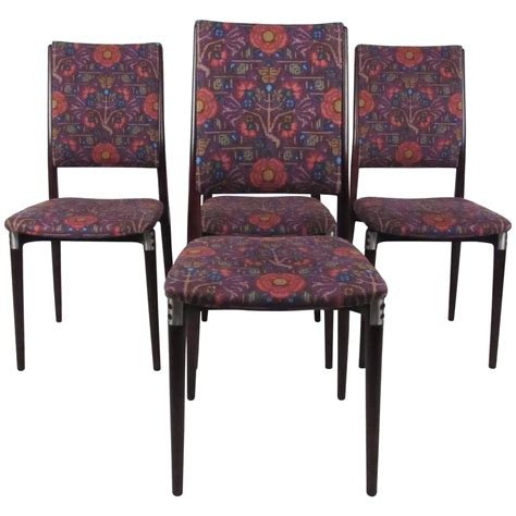 exquisite dining room furniture exquisite set of mid century italian dining chairs by eugenio gerli for sale at 1stdibs
