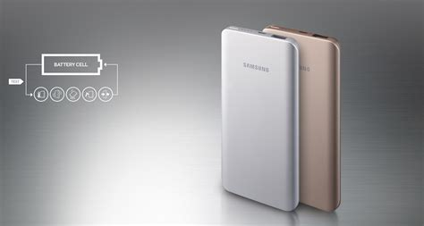 Power Bank Fast Charging Samsung power bank samsung rechargeable battery pack 5200 mah gold fast charge original lazada