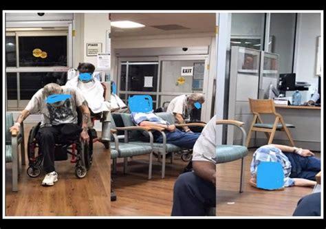 chl waiting room carolina va for neglect leaving patients on floor