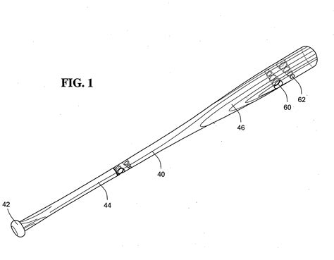 baseball bat diagram patent us20090149285 baseball bat utilizing stepped