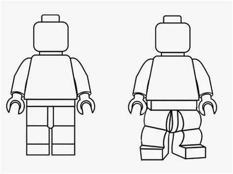 lego minifig coloring page simple black and white clipart lego minifigures outline