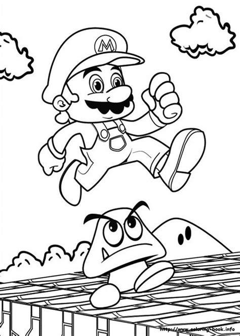 coloring pages mario bros top 20 free printable super mario coloring pages online
