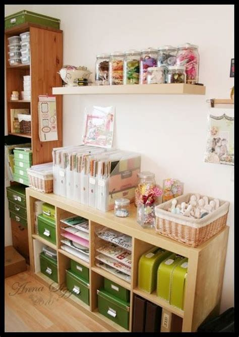 1000 Images About Craft Storage Ideas On Pinterest Craft Desk Organization Ideas