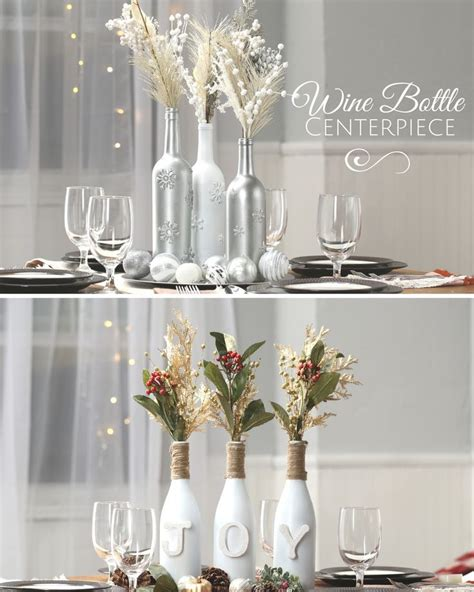 wine decorations for the home 17 best ideas about wine bottle centerpieces on