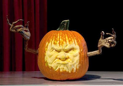 epic scary  pumpkin carving face ideas  talented