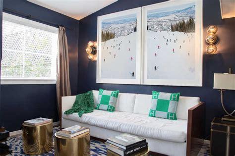 interior decor inspired  ski art gray malin