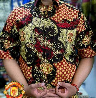 batik klub bola manchester united batikclubbola