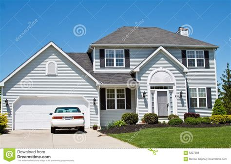 suburban house suburban house royalty free stock photos image 5227388