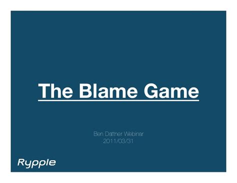 Duel Mba Ma Industrial Organizational Psychology by The Blame Culture At Work With Ben Dattner