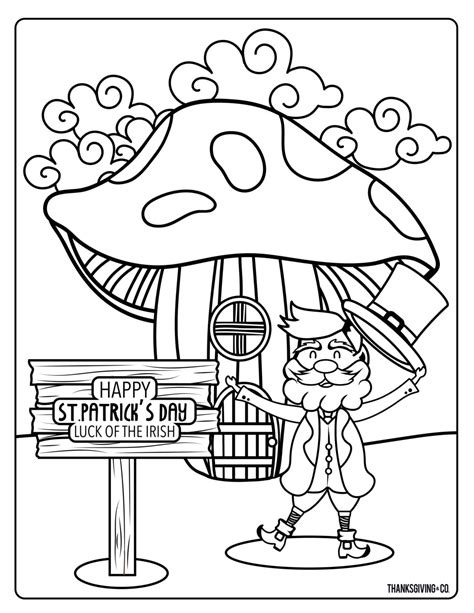free printable st day coloring pages 6 printable whimsical st s day coloring pages