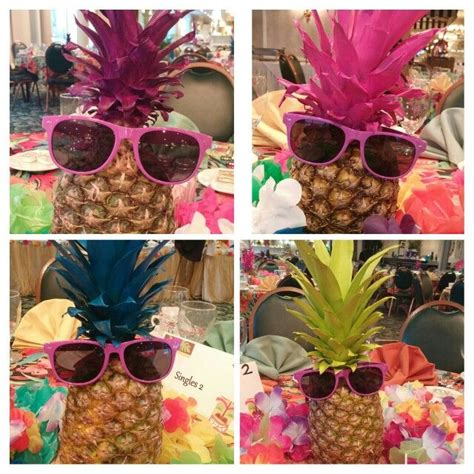hawaiian table decorations ideas best 25 luau centerpieces ideas on luau