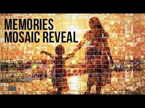 Mosaic Photo Reveal After Effects Project Ae Templates Youtube Photo Reveal After Effects Template