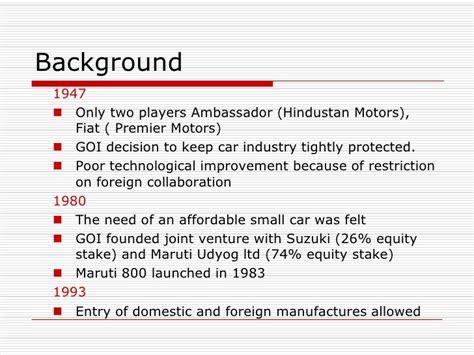 Joint Venture Of Maruti Suzuki Hyundai Amrit Apurva
