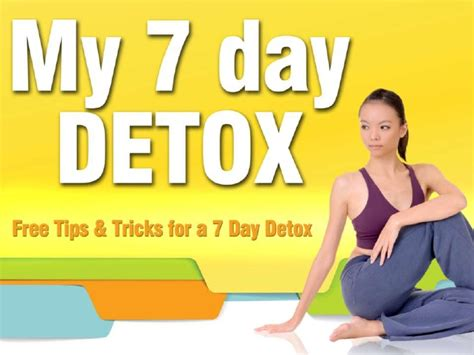 7 Day Detox For Tests by My 7 Day Detox