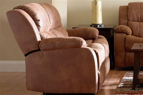 Microfiber Reclining Loveseat With Console by Fireside Microfiber Reclining Console Loveseat
