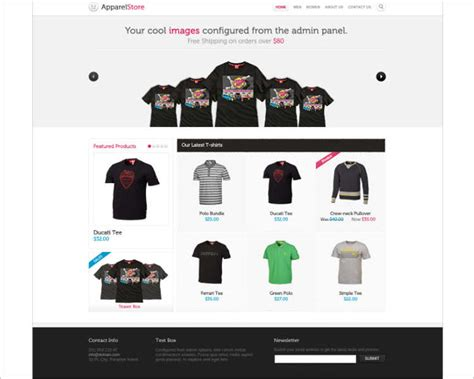 php ecommerce template php ecommerce website templates free premium