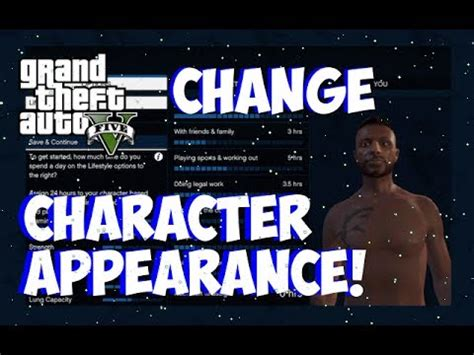 reset gta online character gta 5 online new how to change your character s