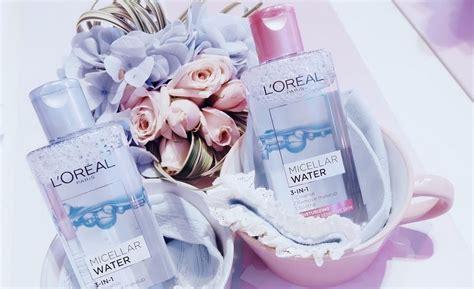 L Oreal Micellar Water review tẩy trang lor 233 al micellar water 3 in 1 chất
