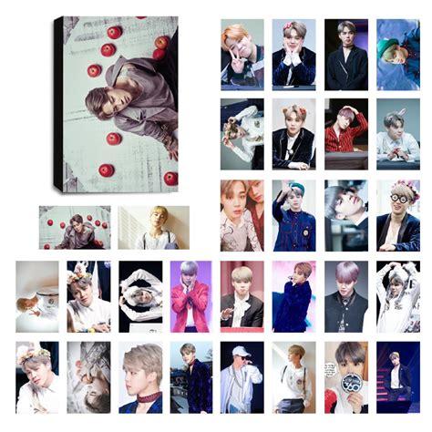 Photo Card Member Bts bts jimin ver 3 lomo photocard set kpop mall usa