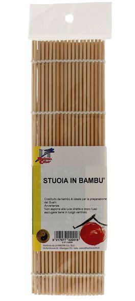 stuoia sushi stuoia in bamb 249 per sushi la finestra sul cielo