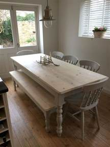 White Farmhouse Kitchen Table 25 Best Ideas About Painted Farmhouse Table On Rustic Farmhouse Table Diy Living
