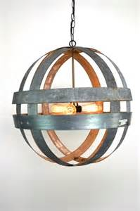 Wine Barrel Ring Chandelier Wine Barrel Ring Atom Hanging Chandelier